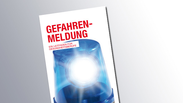 Titelseite Gefahrenmeldung © AK Salzburg