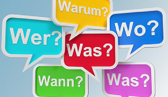 W-Fragen in Sprechblasen © fotomek, Fotolia.com
