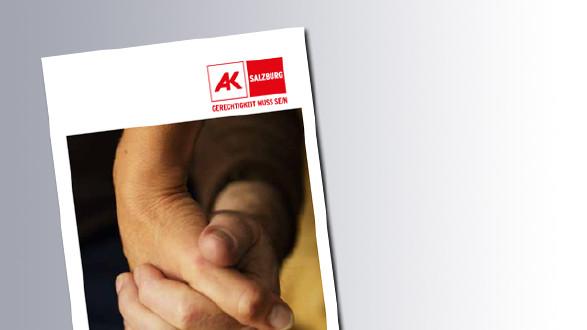 Titelseite Pflegefreistellung © AK Salzburg
