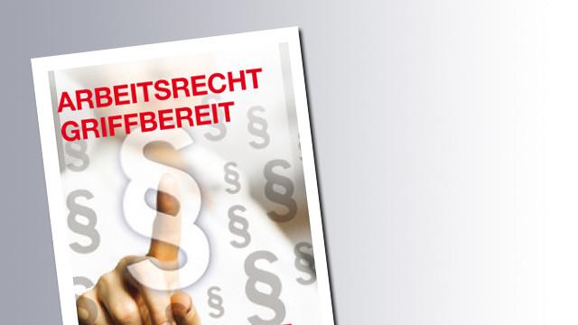 Titelseite Arbeitsrechte griffbereit © AK Salzburg, AK