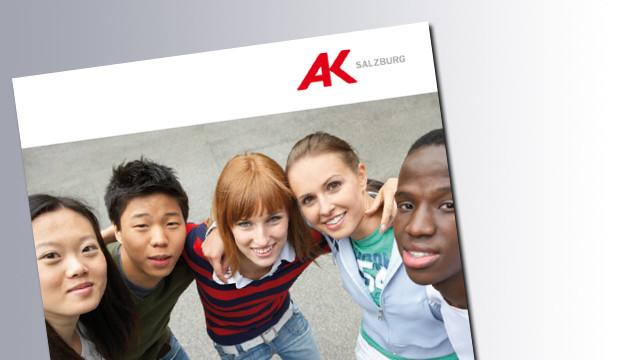 Titelseite Zuwanderung,Sozialstaat und Arbeitsmarkt © AK Salzburg