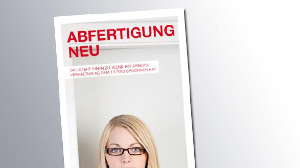 Titelseite Abfertigung Neu © AK Wien