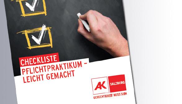 Titelseite Pflichtpraktikum © AK, AK