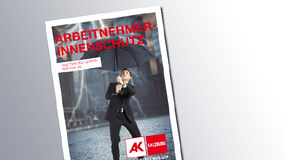 Titelseite Arbeitnehmerinnenschutz © AK Salzburg