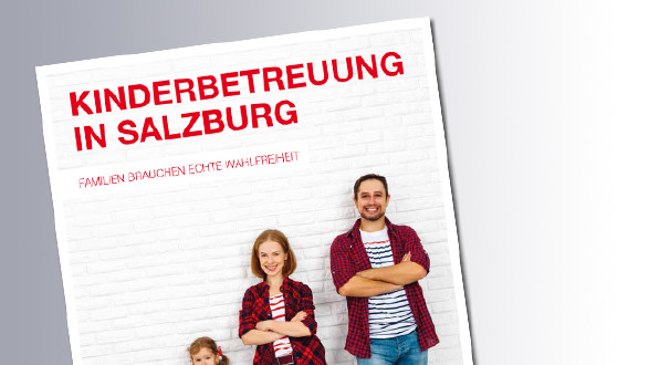 Titelseite Kinderbetreuungsstudie © AK, AK
