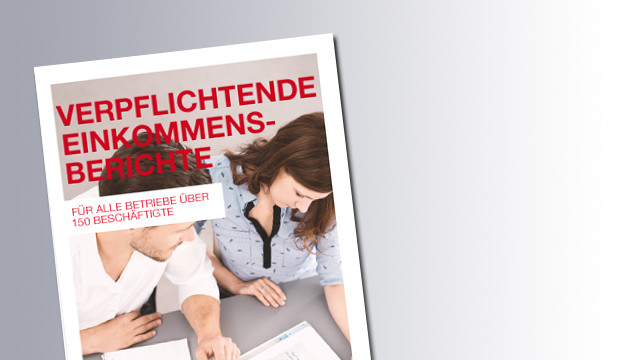 Titelseite Verpflichtende Einkommensberichte © AK, AK